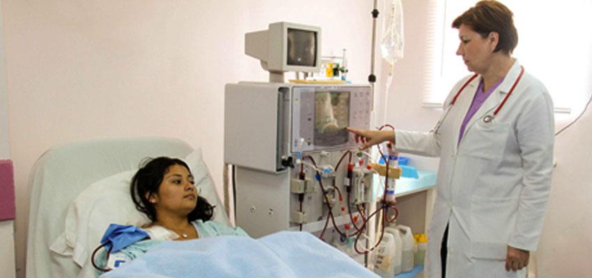 woman on Dialysis