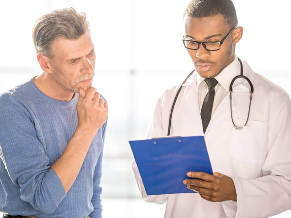 man consulting a Psychiatrist